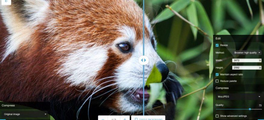 Как быстро и качественно сжать изображение. Squoosh от Google Chrome Labs