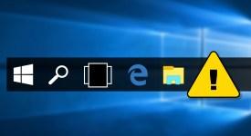 Как исправить ошибки панели задач в Windows 10