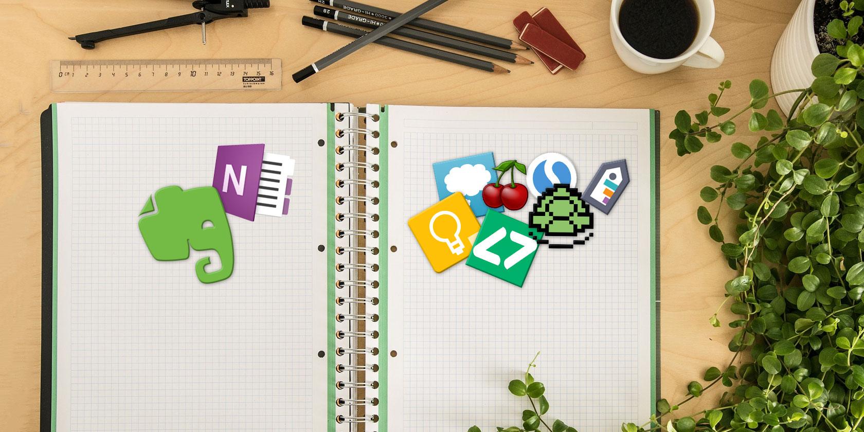 6 лучших легких альтернатив OneNote и Evernote