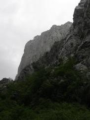 Less than one hour after we climbed Paklenica was all rainy again. We were lucky with the conditions!