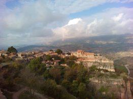 Siurana village, with legendary refugio Ciriac Bonet
