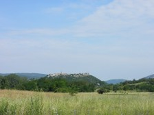 Buzet - one of the many Istrian towns build on top of the hill