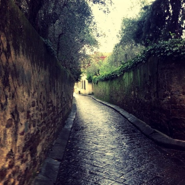 Where i got lost up in the hill (florence)