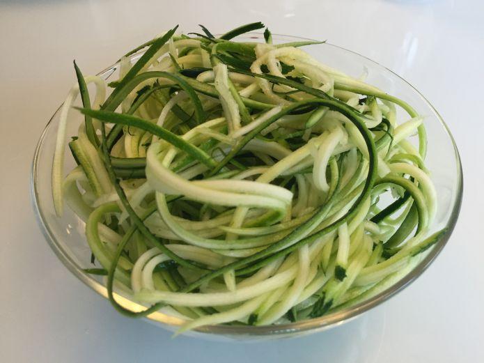 Strimlet spiral squash ala pasta