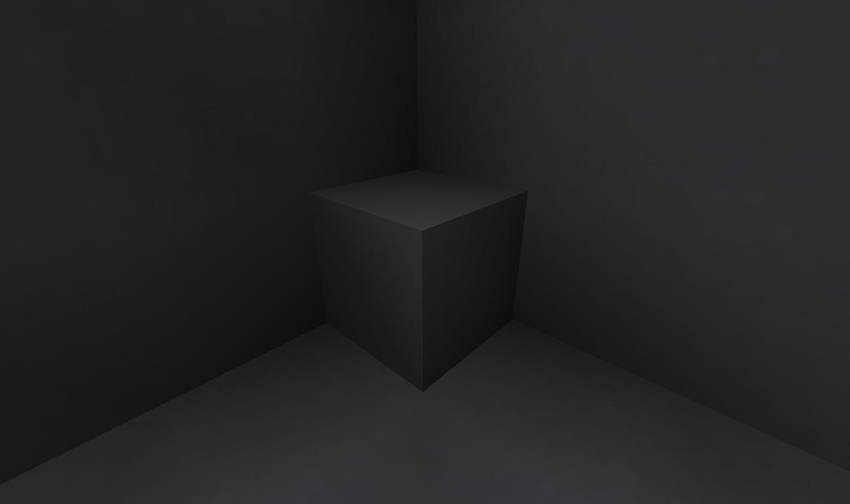 Dunkel grauer Beton