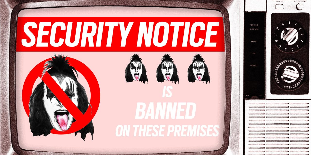 Now That's Rock n Roll: Fox News Bans Kiss Frontman Gene Simmons for Life