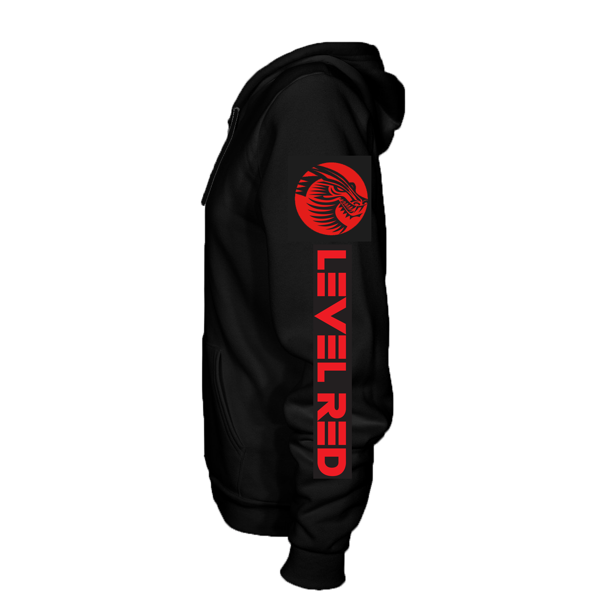01738c64 Level Red Pullover Hoodie - LEVEL RED