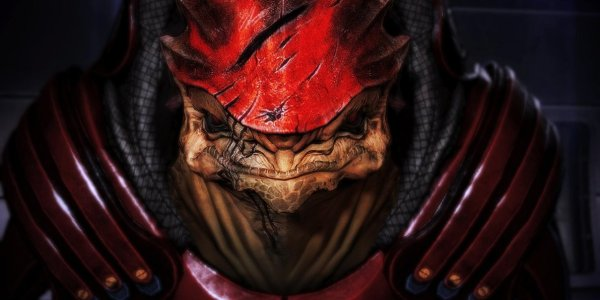 Top 10 Mass Effect Comrades Wrex