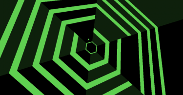 super-hexagon-green
