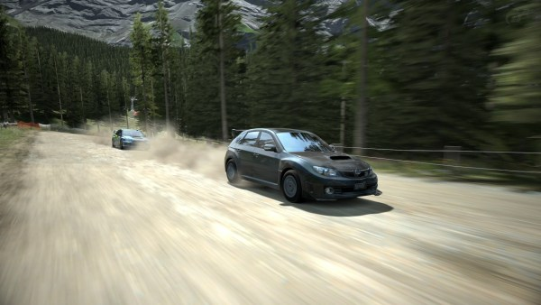 Gran Turismo doesn't limit itself to racing on asphalt but also features Rally.