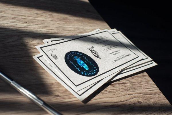 photo des certificats d'authenticité de mahell même pas purr