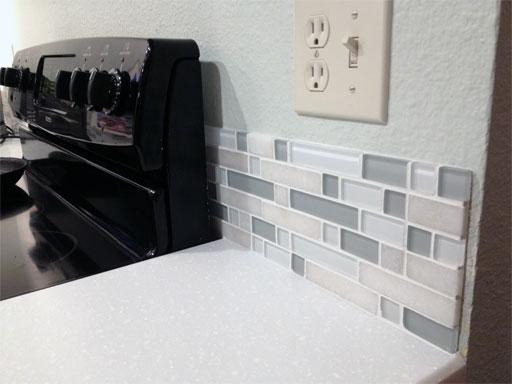 diy kitchen backsplash part 5
