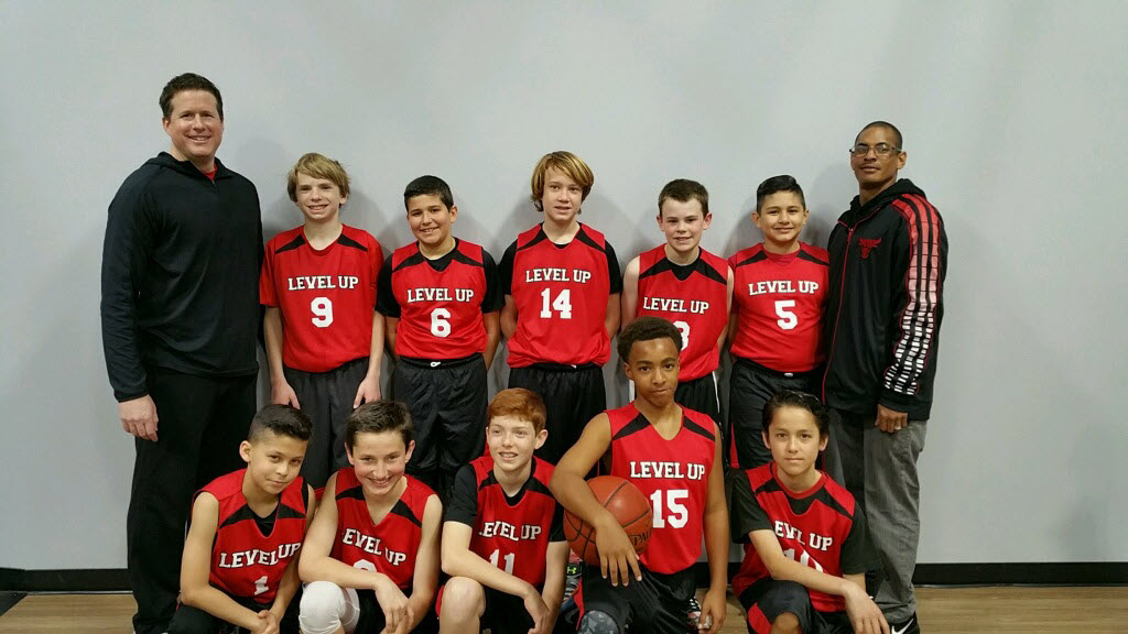 Level Up 6th grade boys basketball team 2017
