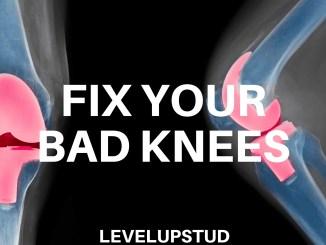 fix your bad knees weak knees