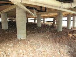 Pier and Beam Foundation Repair