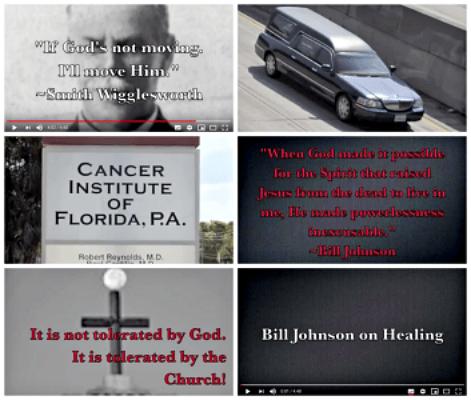 Bill Johnson over genezing