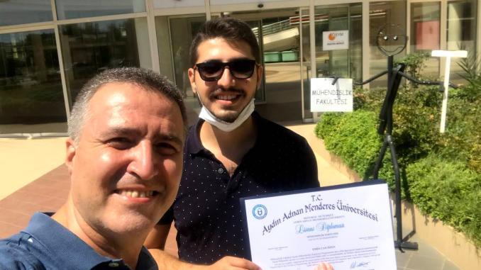 Emin Can Özen Diploma