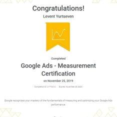 ölçümleme sertifikası