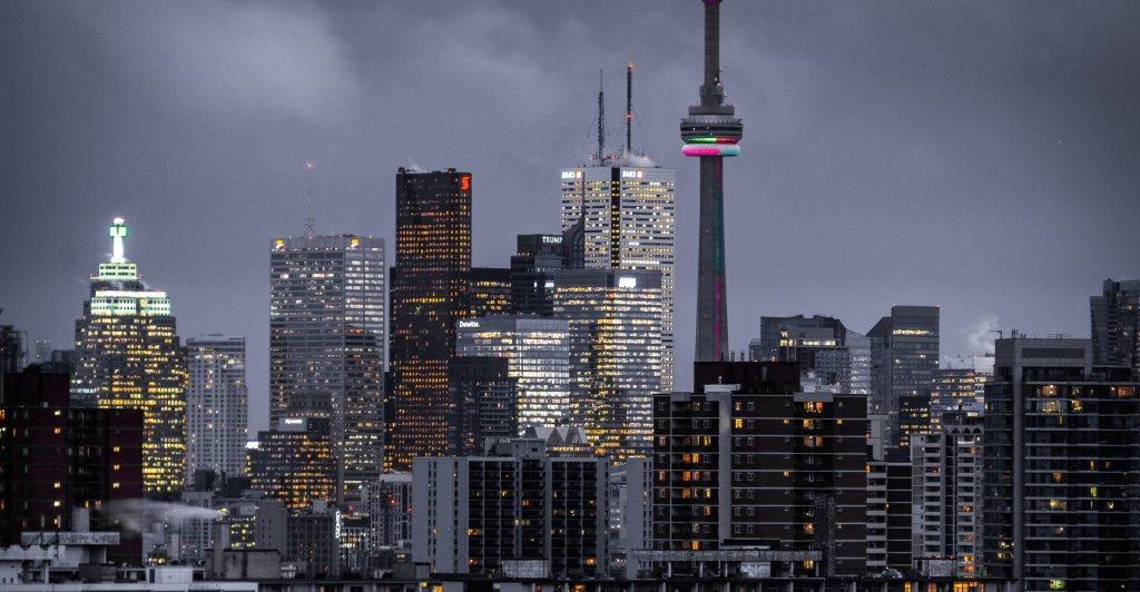 Toronto metropolis city