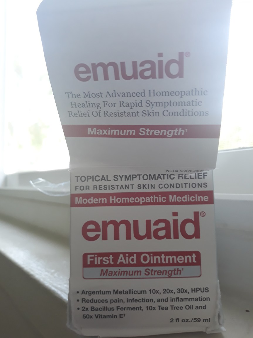 8 Curable Skin Conditions via Healthy Homeopathic, and Natural Emuaid Max Cream