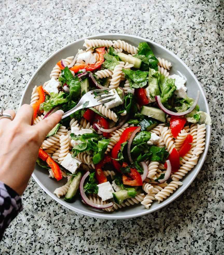 Cold Italian Pasta Salad {Paleo, Grain Free} | Leverage Ambition