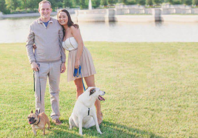 Michelle Schroeder-Gardner's, Wes Gardner and their dogs. The Leveraged Mama.