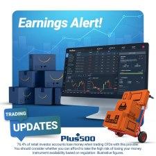 Plus500 Trading Update News