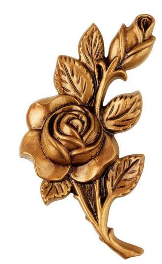Bronze Rose Emblem 2354