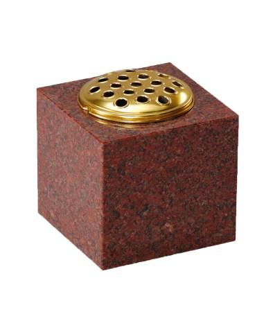 Stone Memorial  vase