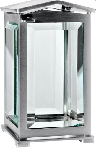 Stainless Steel Lantern with Apex Top 0119MSAT