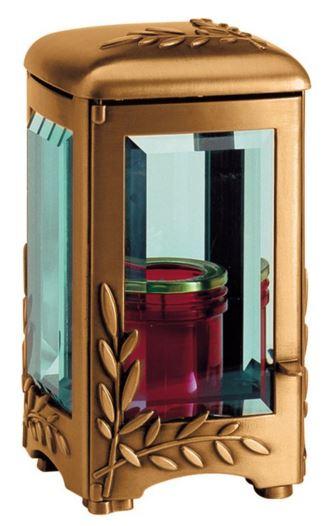 Bronze Lantern with floral design 2987