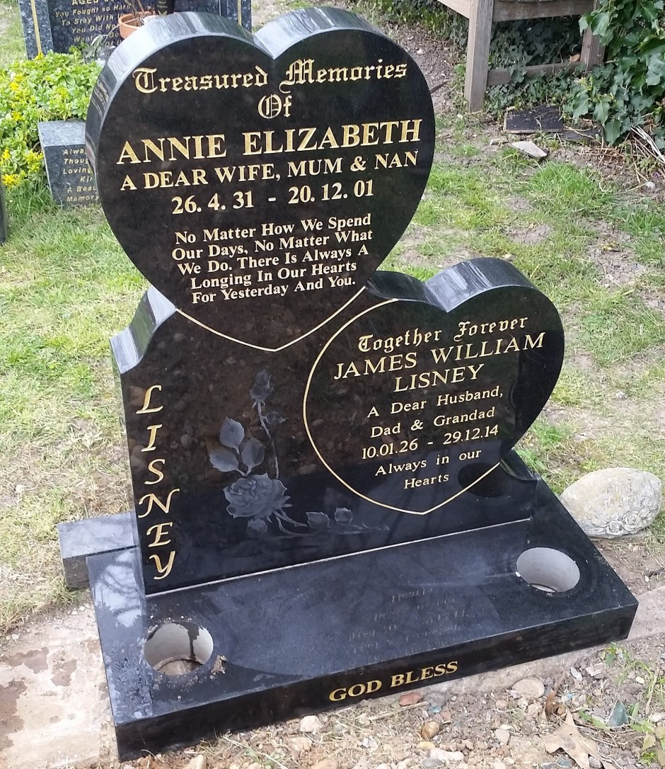 Gravestone And Headstone Wording And Letters Rippleside