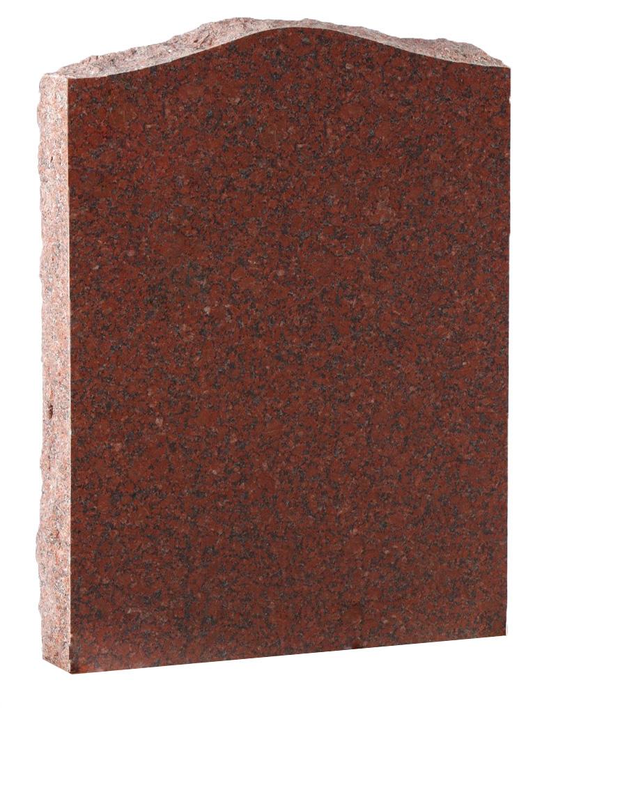 Red Granite Cremation Memorial