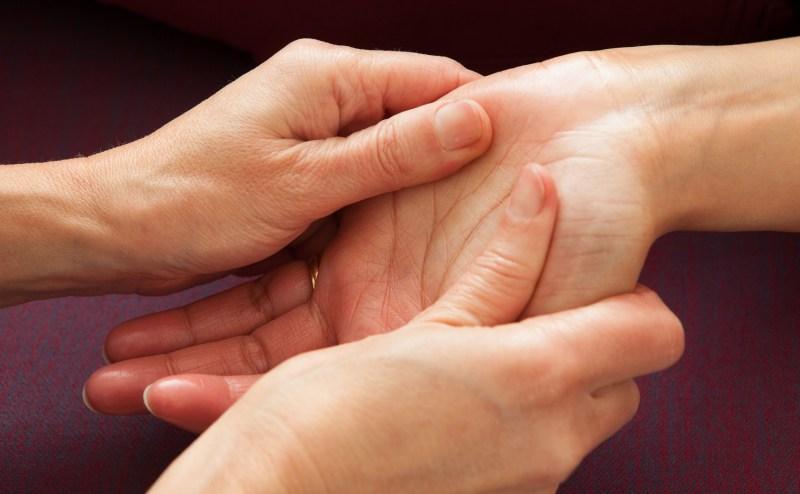 Massages des mains