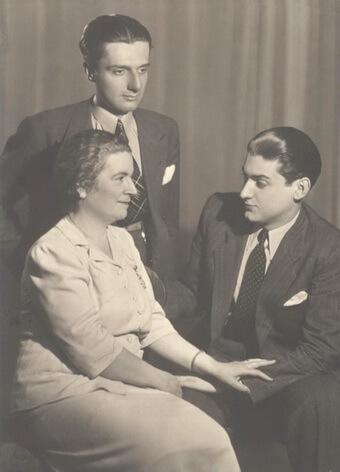Dinu Lipatti Anna Lipatti Valentin Lipatti 1942
