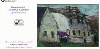 Expozitie pictura Florentin Leancă Arhetipul Culorilor