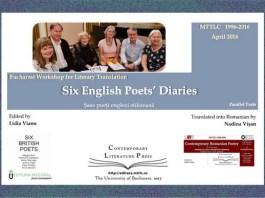 six english poets diaries