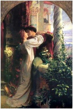 """Frank Diksee, """"Romeo și Julieta"""""""