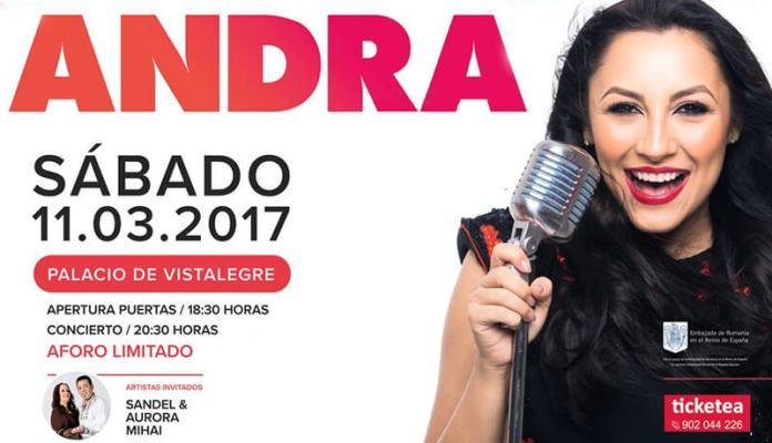 Andra concert concierto Madrid Palacio de Vistalegre
