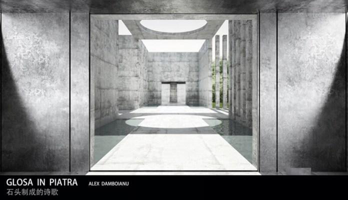Glosa in piatra Alexandru Dramboiana Beijing