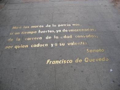 Calle de las Huertas - Francisco de Quevedo - Sonet