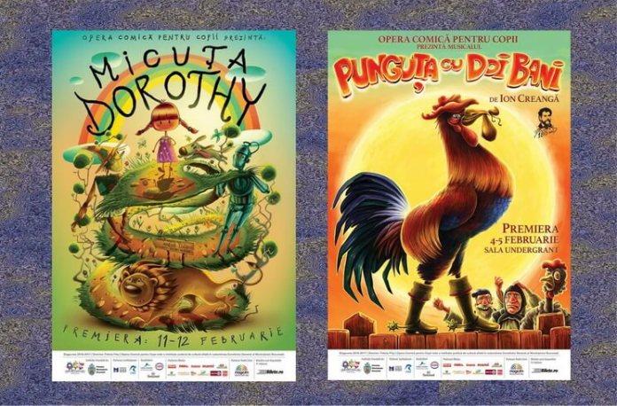 premiere opera comica pentru copii bucuresti