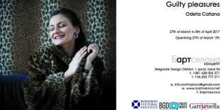 Odeta Catana - Guilty Pleasures Belgrad Beograd Bartcelona Gallery