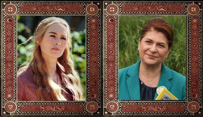 Cersei Lannister Rovana Plumb Game of Thrones Politicieni Romani