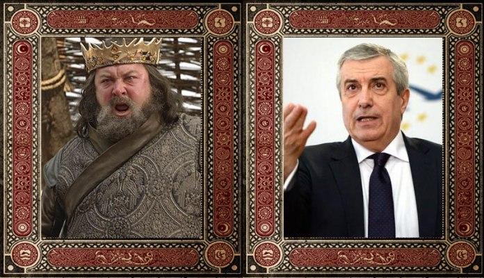 Robert Baratheon Calin Popescu Tariceanu Game of Thrones Politicieni Romani