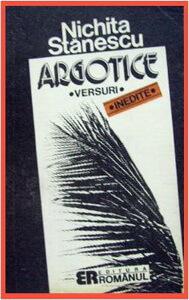 coperta-argotice-nichita-stanescu-poezii-de-tinerete