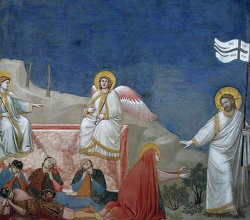 Giotto Invierea lui Christos Capela Scrovegni Padova 1304 1306