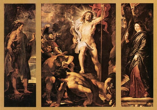 Peter Paul Rubens The Resurrection of Christ