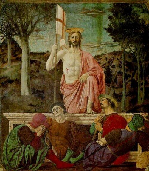 Piero della Francesca TheResurrection Pinacoteca Comunale Sansepolcro 1463