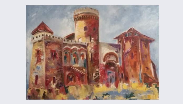 Adina Moldova Țitrea Castelul din Parcul Carol